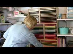 Great website for organizing your paper craft supplies