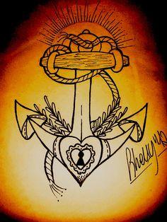 sailor anchor sketch by ~ShellyZTrueheartInk on deviantART