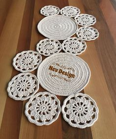 D e t a i l s ] Language: Japanese Condition: Brand New Pages: 143 pages in Japanese Author: Eriko Aoki Date of Publication: Item Number: You can enjoy lovely 50 coasters d Table Runner Pattern, Crochet Motif, Table Runners, Crochet Projects, Elsa, Diy Crafts, Item Number, Coasters, Language