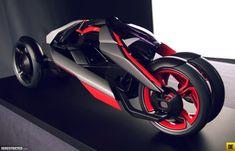 audi_nexus_09 Tricycle Bike, Transportation Design, Alloy Wheel, Industrial Design, Audi, Trike Motorcycles, Projects, Wheels, Electric
