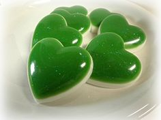 Hearts Soap Set of 7 by Kokolele on Etsy
