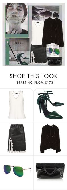 """""""Super Heavy"""" by lablanchenoire ❤ liked on Polyvore featuring Alexander Wang and Grey Ant"""