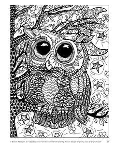 awesome owls coloring book by fox chapel publishing issuu - How To Publish A Coloring Book