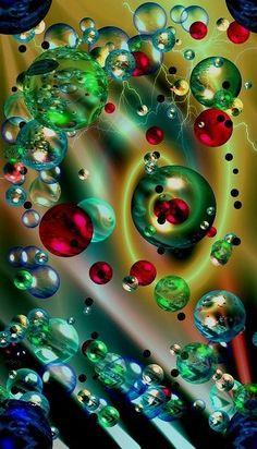 "Photo from album ""Пины фракталы"" on Yandex. Art Fractal, Fractal Design, World Of Color, Psychedelic Art, Rainbow Colors, Color Splash, Amazing Art, Fantasy Art, Iphone Wallpaper"