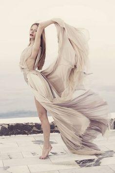 fashion flow movement breeze