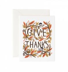 Thankful Forest Available as a Single Folded Card or Boxed Set of 8