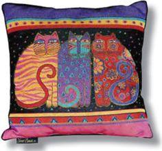Feline Friends Pillow