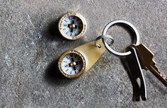 Everyday Carry Brass Compass - Kaufmann Mercantile