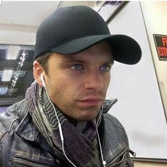 This is so Winter Soldier-y. I think I'll use it as a pic for my next Bucky fic. He's so gorgeous!!!