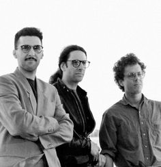 John Turturro and the Coen Brothers at the 1991 Cannes Film Festival