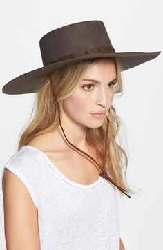 Brixton 'Vega' Wool Hat available at #Nordstrom