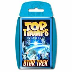 Diamond Select - Star Trek Classic 3D Top Trumps Special by Diamond Select. $14.99. Travel to the final frontier as Top Trumps boldly goes where no game has gone before and brings together the captains, crews and alien baddies from decades of space travel. From Kirk to Picard, to Janeway, Sisko and Archer, along with their allies and comrades of all races and origins, pitch Spock against Neelix, see if a Romulan is tougher than the Borg, and read all about the Fede...