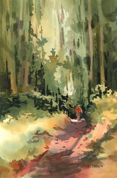 Into The Wild Painting by Kris Parins