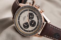 During BaselWorld 2015, one of our favorite new watches was this Omega Speedmaster FOiS in Sedna Gold. Fratello Watches talks about it on Speedy Tuesday!