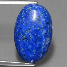 Item in Stock and ready to ship == 7.91ct Blue Lapis Lazuli 17.63mm x 11.35mm