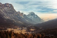 Cortina d'Ampezzo | Shot from Strada Regionale 48 delle Dolo… | Marcin Bambit | Flickr