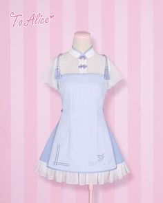 BOOKING: Classic Chinese Style *Butterfly in Love* OP Lolita Dress