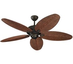 Monte Carlo Cruise Collection Bronze Indoor/Outdoor Ceiling Fan at Lowe's. Cruise 52 in. Roman Bronze Ceiling Fan offers precision balanced motor and blades for wobble-free operation. This roman bronze finished American walnut Monte Carlo, 52 Inch Ceiling Fan, Bronze Ceiling Fan, White Ceiling, Hunter Douglas, Porches, Tropical Ceiling Fans, Light In, Cruise Collection