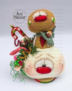 Christmas Time, Christmas Ornaments, Polymers, Snowman, Sewing Patterns, Goodies, Dolls, Halloween, Holiday Decor