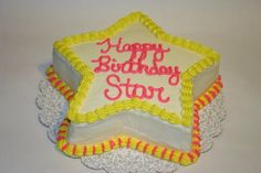 Star cake for my sister-in-law Star
