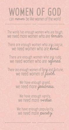 Women of God!