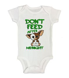 DON'T FEED AFTER MIDNIGHT - Cute Baby Onesie