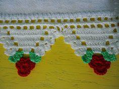 Um blog sobre crochê e trabalhos manuais.