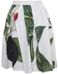 White Liberty Skirt