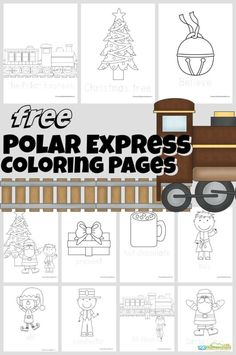 These handy, free printablepolar express coloring pages are perfect polar express activity to accompany reading The Polar Express book or watching the Polar Express movie. These free Christmas coloring pages are simple, making them ideal for toddler, preschool, pre-k, kindergarten, and first grade students. Simply download pdf file with a pack of many polar express coloring page templates to choose from including the conductor, Christmas tree, Santa Claus, train, and more! Thesepolar…