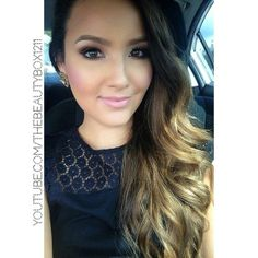 Perfect ombre balayage hair