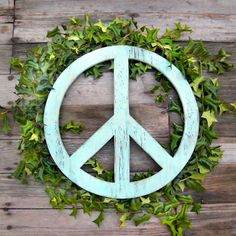 Big Peace Sign  24 High Peace Symbol Large by SlippinSouthern, $70.00