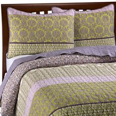 Peaceful pattern, and super soft. #quilt  Could be a winner for the new gray bedroom!