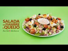 Receita de Salada de Fiambre e Queijo - YouTube
