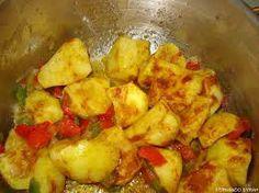 Pollo especiado al Sauvignon con patatas - Recetízate