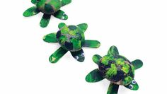 Turtle craft. Too cute!