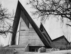 Church of St. Paul | 1964 | Dielsdorf, Switzerland | Justus Dahinden