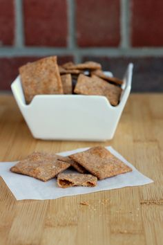Southwestern Homemade Wheat Thins