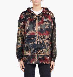 huge selection of d8ce1 189df New Adidas x Pharrell Williams Hu Hiking Windbreaker Jacket Camouflage Size  XS adidas ActivewearLongSleeve