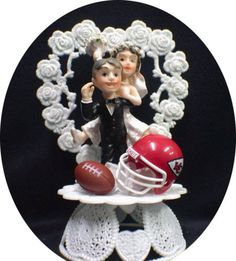 alabama football wedding cake toppers 1000 images about kansas city chiefs inspired wedding on 10645