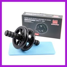 Hot sell! Abdominal Wheel Ab Roller With Mat For Exercise Fitness Equipment Aparatos Para Hacer Ejercicio AB ROLLER