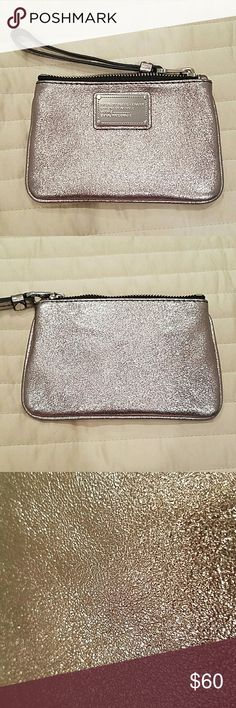 Marc by Marc Jacobs Classic Q Small Wristlet Brand new without tags. Never used. Silver hardware. Attached key ring inside. Marc by Marc Jacobs Bags Clutches & Wristlets