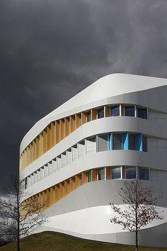 Centre for Virtual Engineering Stuttgart by UNStudio Ben van Berkel, Caroline Bos
