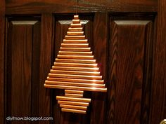 DIY it Now!: COPPER PIPE CHRISTMAS TREE