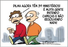 Charge do dia: Dilma nomeia o 39º ministro | S1 Noticias