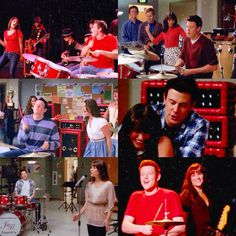 """""Like a drum, my heart never stops beating for you"" ❤️ _ Inspo: tumblr _ #glee#finchel"""