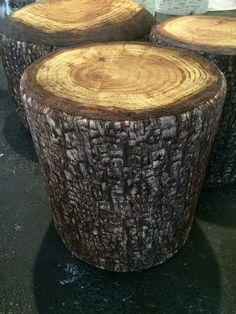 Robin Horton: Soft log stools