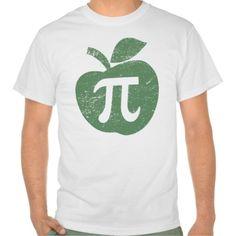 Apple Pie Pi Day Shirts