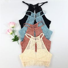 a4468e2b9d4bf Open Slit BRALETTE - many colors