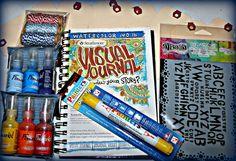 Yummy Art Journal Supplies Giveaway #2 on my Art Education Blog - Artful Flourish