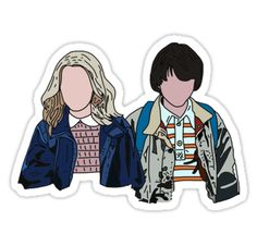 Mike and Eleven from Stranger Things • Also buy this artwork on stickers, apparel, phone cases, and more.